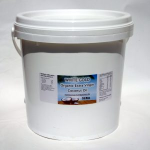 White Gold Organic Extra Virgin Coconut Oil 10 L