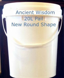 Ancient Wisdom 20L Raw Extra Virgin Coconut Oil