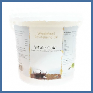 White Gold Extra Virgin Coconut Oil | From Sri Lanka Wholefood Revitalising Oil