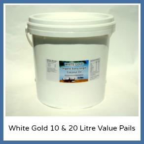 White Gold 10 & 20 Litre Value Pails