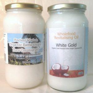 Virgin Coconut Oil 1 Litre TwinPack