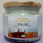 Oil 300ml Glass Jars White Gold Extra Virgin Coconut Oil