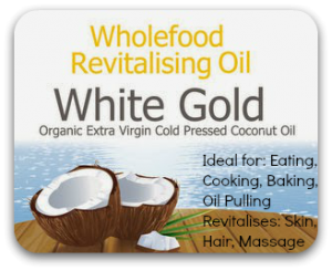 White Gold Organic Extra Virgin Cold Pressed Coconut Oil