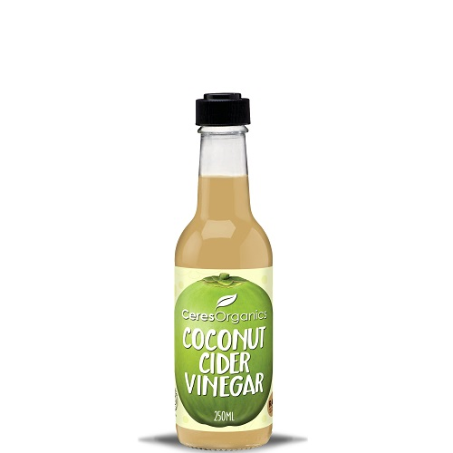 Ceres Coconut Cider Vinegar 250ml Glass Bottles