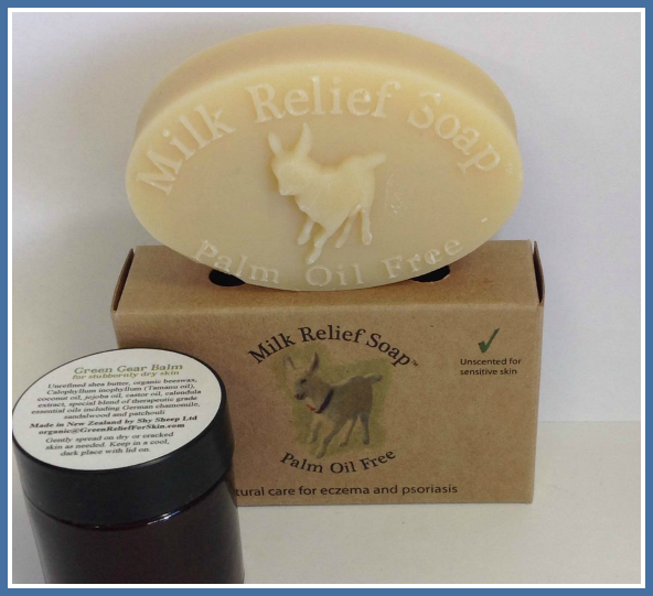 Dry Skin Combo | Milk Relief Soap and Green Gear Balm