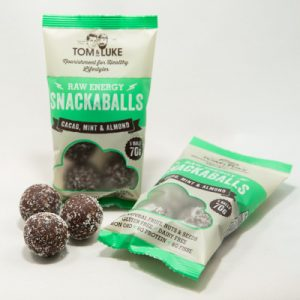 5 Snackaballs Cacao, Mint and Almond Raw Energy